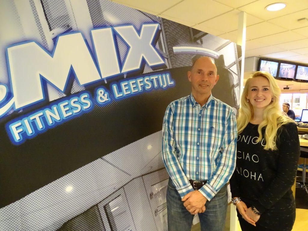 Ben van Gelder en Roxanne Spuij van De Mix.
